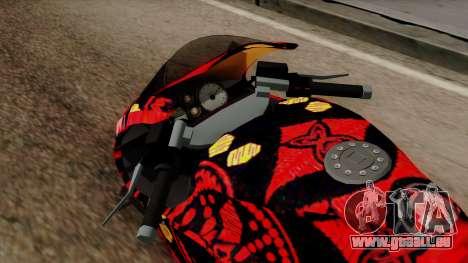 Bati Batik für GTA San Andreas Rückansicht