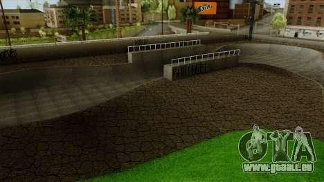 HD Skate Park pour GTA San Andreas quatrième écran