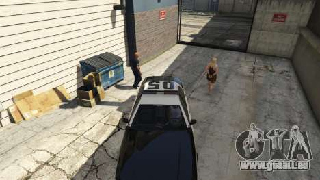 GTA 5 Arrest Peds V (Police mech and cuffs) fünfter Screenshot