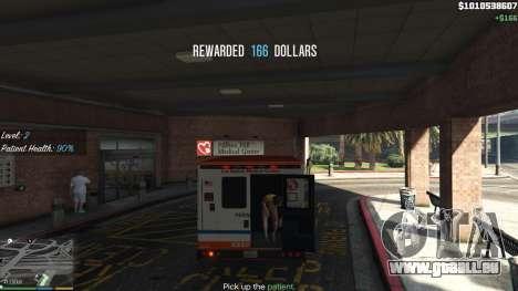 La Mission de l'ambulance v. 1.3 pour GTA 5