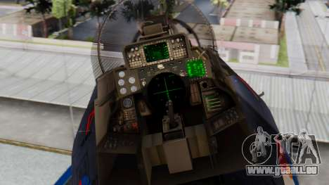 F-14A 213 Koninklijke Marine für GTA San Andreas Rückansicht