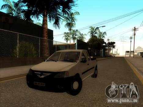Dacia Logan Pick-up Necarosat pour GTA San Andreas