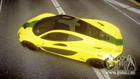 McLaren P1 2014 [EPM] Harrods GTR für GTA 4 rechte Ansicht