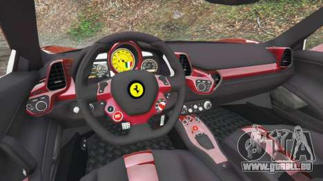 Ferrari 458 Italia v0.9.4 pour GTA 5