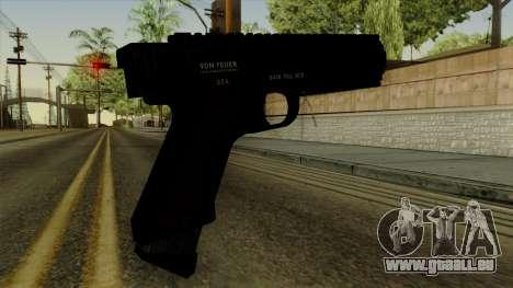 AP Pistol pour GTA San Andreas deuxième écran