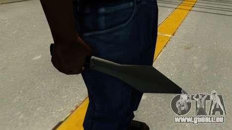 Wurfmesser für GTA San Andreas zweiten Screenshot