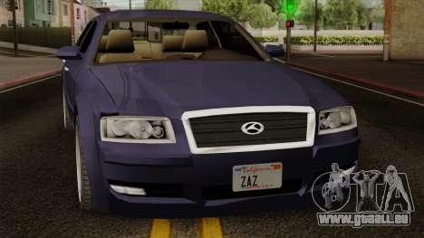 Sungnyemun Moirai IVF pour GTA San Andreas vue de droite
