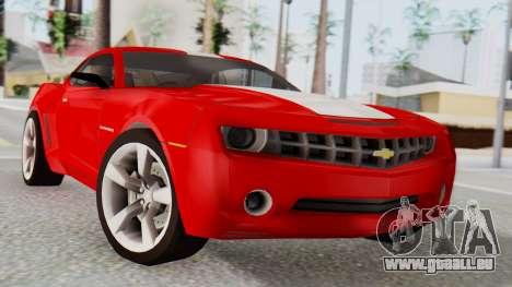 NFS Carbon Chevrolet Camaro pour GTA San Andreas