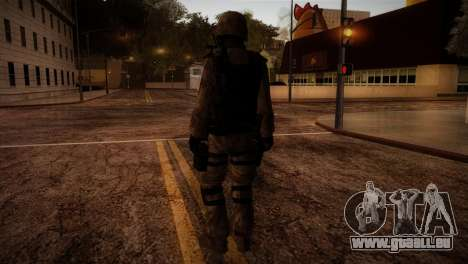 U.S.A. Ranger pour GTA San Andreas troisième écran