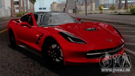 Chevrolet Corvette C7 Stingray 1.0.1 pour GTA San Andreas