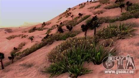 Véritable texture de la végétation pour GTA San Andreas