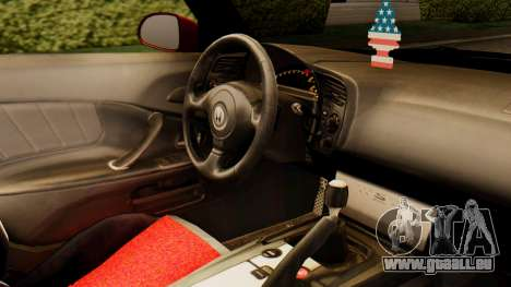 Honda S2000 pour GTA San Andreas vue de droite