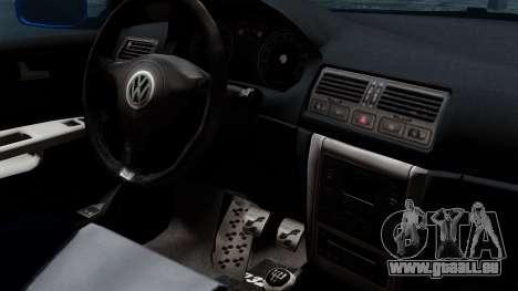 Volkswagen Golf Mk4 Stance pour GTA San Andreas vue de droite