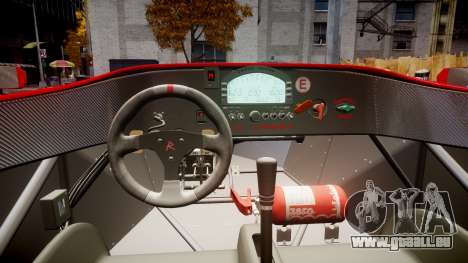 Radical SR8 RX 2011 [16] für GTA 4 Rückansicht