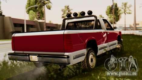 Chevrolet Silverado SA Style pour GTA San Andreas laissé vue