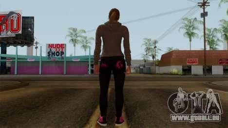 GTA 5 Online Female02 für GTA San Andreas dritten Screenshot
