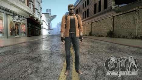 New Jhon Albert Wesker from Resident Evil pour GTA San Andreas deuxième écran