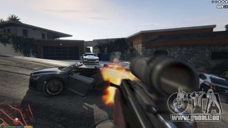 GTA 5 Carabine Bulldog septième capture d'écran