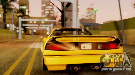 HD Infernus pour GTA San Andreas laissé vue