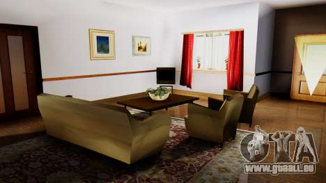 New Interior for CJs House pour GTA San Andreas quatrième écran
