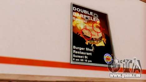 Real fast food pour GTA San Andreas troisième écran