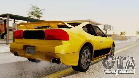 Sportcar2 SA Style pour GTA San Andreas laissé vue