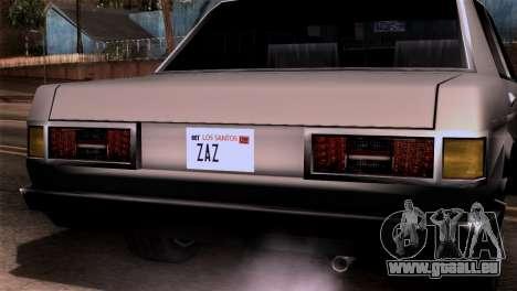 Nouveaux phares pour GTA San Andreas deuxième écran