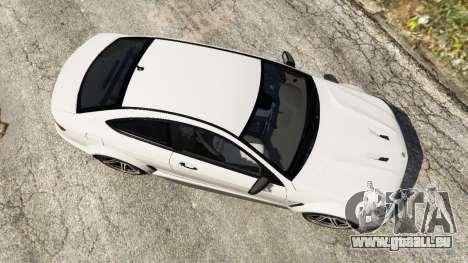 GTA 5 Mercedes-Benz C63 AMG 2012 vue arrière