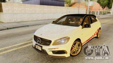 Mercedes-Benz A45 AMG 2012 PJ pour GTA San Andreas roue