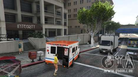 GTA 5 Mission Krankenwagen v. 1.3 vierten Screenshot