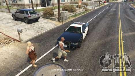GTA 5 Arrest Peds V (Police mech and cuffs) troisième capture d'écran