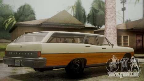 GTA 5 Dundreary Regina IVF pour GTA San Andreas laissé vue