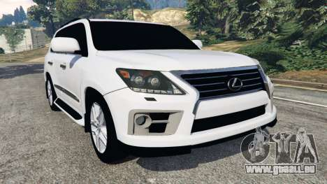 Lexus LX 570 2014 für GTA 5