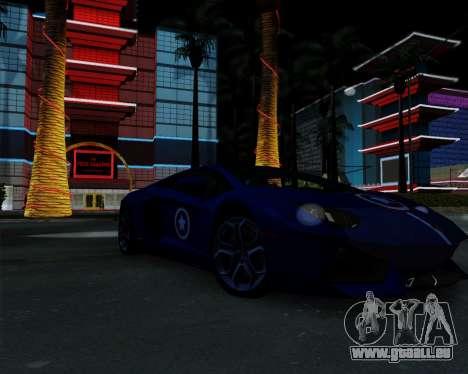 ENB Pizx pour GTA San Andreas quatrième écran