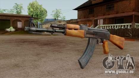 Original HD AK-47 pour GTA San Andreas deuxième écran