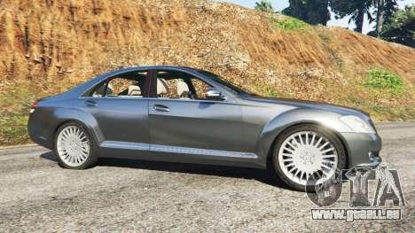 GTA 5 Mercedes-Benz S500 W221 v0.2 [Alpha] linke Seitenansicht
