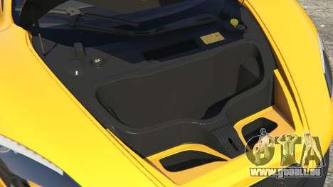 GTA 5 McLaren P1 2014 rechte Seitenansicht