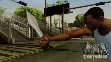 Wurfmesser für GTA San Andreas dritten Screenshot