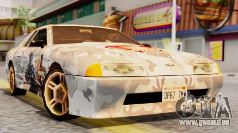 Elegy Contract Wars Vinyl pour GTA San Andreas