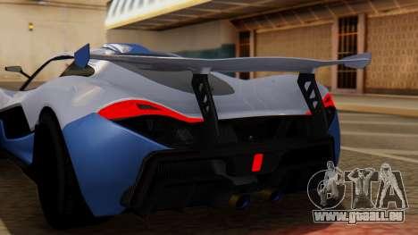 Progen T20 GTR pour GTA San Andreas vue arrière