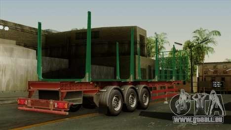 Trailer Cargos ETS2 New v1 pour GTA San Andreas laissé vue