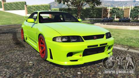 Nissan Skyline BCNR33 [Beta] pour GTA 5