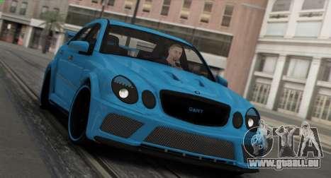 Mercedes-Benz E63 Qart Tuning für GTA San Andreas Unteransicht