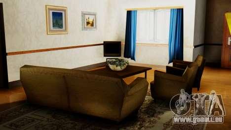Le nouvel intérieur de la maison de CJ pour GTA San Andreas cinquième écran