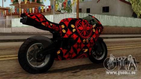 Bati Batik für GTA San Andreas linke Ansicht