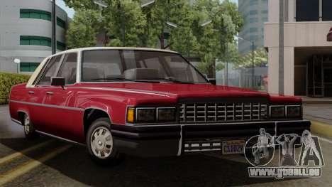 GTA 5 Albany Emperor IVF pour GTA San Andreas