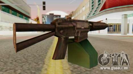 Ares Shrike SA Style pour GTA San Andreas deuxième écran