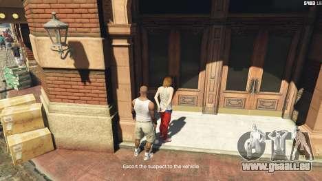 GTA 5 Arrest Peds V (Police mech and cuffs) septième capture d'écran