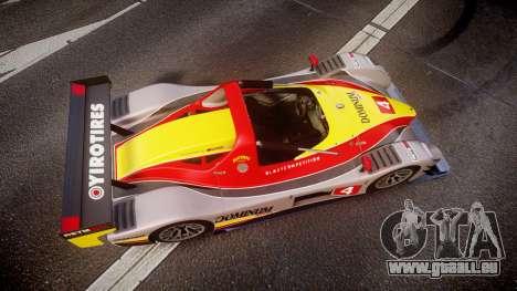 Radical SR8 RX 2011 [4] pour GTA 4 est un droit