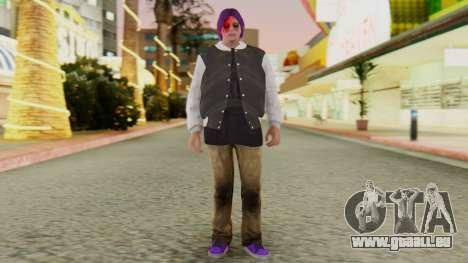 [GTA5] Ballas Member pour GTA San Andreas deuxième écran